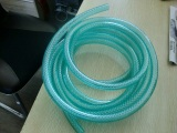 Testing Samples of PVC Fiber Reinforced Hose Extrusion Line