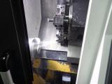 CNC machine working