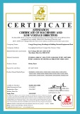 CE certificate of rotary dryer