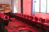 LED flood lights test