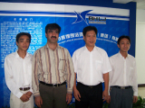 Other countries customer′s visit