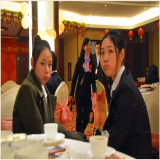 Beautiful Young Girls of Purchasing Department on Year 2014 Party