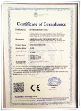 CE Certificate of wire test machine