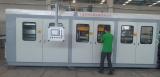 zs-6171 PLC Control Negative pressure sheet vacuum forming machine