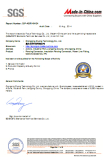 SGS certificate from made-in-china