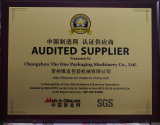 SGS-Audited Supplier