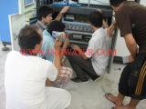 Our engineers installed machines in customer′s Water Plant in Kingdom of Saudi Arabia