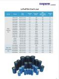 LiFePo4 Cells list