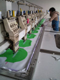 embroider working of pet clothes