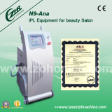 2000w Powerful OPT SHR IPL depilation beauty machine N9