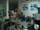 Russian Customer Visit Our Factory