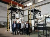 Customer from Middle East visit us for PVC high speed mixer