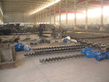 Factory Workshop for Screw Conveyors