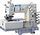 BR-1508P Flat -bed Double chain stitch machine with horizontal looper movement mechanism