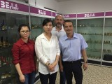 India customer come to vist Ningbo bestway magnet