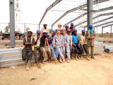 Algeria steel structure warehouse project