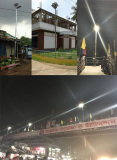 Road Smart Integrated Solar Nighthawk Light In Bangladesh