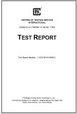 LFGB Test Report