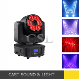 Diamand 6X15W Flower Effect LED Moving Head Beam Light