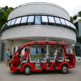 23 Seats Electric Sightseeing Bus in Italy