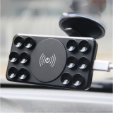 Wireless Car Charger-12 Holes Sucker Adsorption