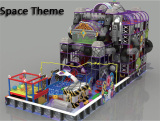 Superboy Space Theme Kids Soft Playground