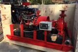 Skid Mounted Diesel Engine Fire Pump