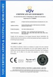 CE Certificate for Air Circuit Breaker