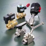 High pressure Ball valve & Brass two way solenoid valve
