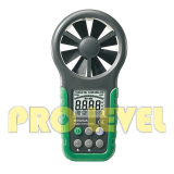 Digital Anemometer with Humidity Tester and Temperature(MS6252B)