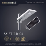 25w easy install all in one led solar street light