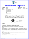 Solar Panel CSA Certificate