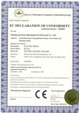 CE certificate for KDJ-D