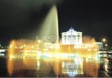 Municipal government square fountain in Shunde new city zone