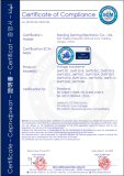 CE CERTIFICATE OF VOLTAGE TRANSFORMER