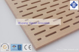 U Pattern Perforated Wood Acoustic Panel