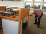 Customer Checking Intensifier Pump