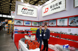 Our company showr in shanghai bauma fair 2016