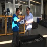 Our engineer communicate with my customer
