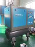 15hp portable screw air compressor with wheel