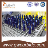HRC60 Tungsten carbide end mill of machine tools