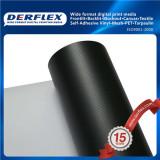 Glossy White-Black Blockout Flex Banner PVC