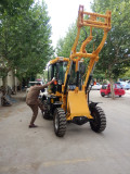 Middle East customer check wheel loader ZL10B