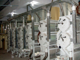 our 400 tons /d rice processing equipment in Bangladesh