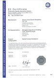 CE certificate for handpiece