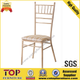 Hotel Metal Wedding High Back Banquet Chiavari Chairs