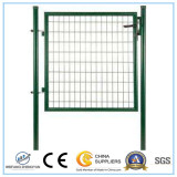 The PVC Coated welded Wire Mesh Fence Gate