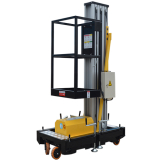 Single Mast Aerial Lift/Platform Height 6-10m/mobile and self-propelled for option.