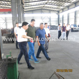 City leaders visit our factory