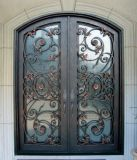 wroguht iron entry door for house